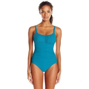Profile by Gottex Ruched One Piece Swimsuit